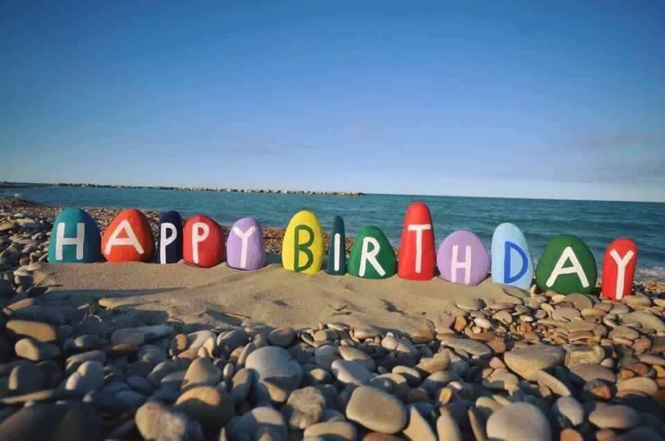 Yesterday was my birthday. It was fun to celebrate over the weekend with friends. I started the morning with meditation and a walk on the beach before coming to work. My usual practice is to continue celebrating for the whole month of July.