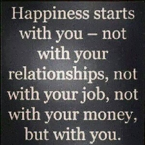 Happiness Start with You